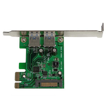 StarTech Dual Port 5Gbps USB 3 PCIe Controller Card w/ UASP Product Image 2