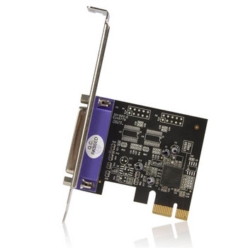 StarTech 1 Port PCI Express Dual Profile Parallel Adapter Card Product Image 2