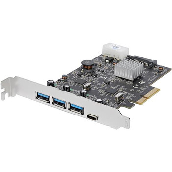 Image for StarTech 4 Port USB 3.1 PCIe Card - 3x A and 1x C 2x 10Gbps Channels AusPCMarket