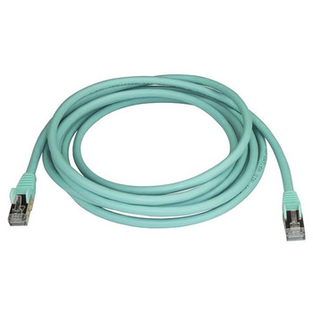 StarTech 3m Aqua Cat6a Ethernet Cable - Shielded (STP) Product Image 2