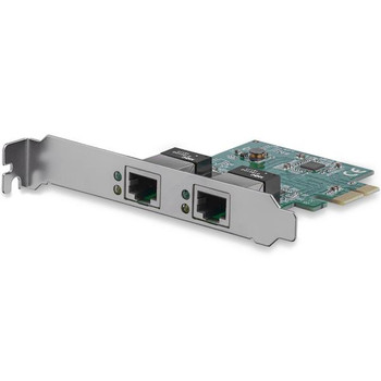 Image for StarTech 2 Port 1 Gbps PCIe Ethernet Network Adapter AusPCMarket