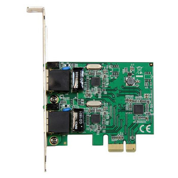 StarTech 2 Port 1 Gbps PCIe Ethernet Network Adapter Product Image 2