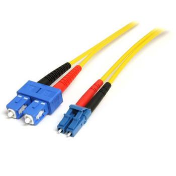 Image for StarTech 10m LC/SC Fiber Optic Cable - Single-Mode Duplex 9/125 LSZH AusPCMarket