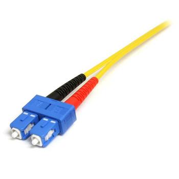 StarTech 10m LC/SC Fiber Optic Cable - Single-Mode Duplex 9/125 LSZH Product Image 2