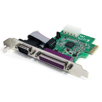 Image for StarTech 1S1P Port PCI Express Parallel Serial Combo Card with 16950 AusPCMarket