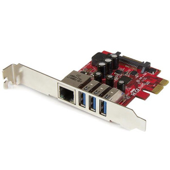 Image for StarTech 3Port PCIe USB 3.0 Adapter Card - USB 3 - Standard & LP AusPCMarket