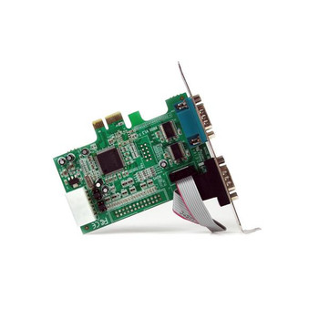 StarTech 2 Port PCI Express RS232 Serial Adapter Card with 16550 UART Product Image 2