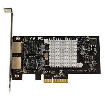 StarTech 2 Port PCIe (x4) GbE Network Card - Intel Chipset Product Image 2