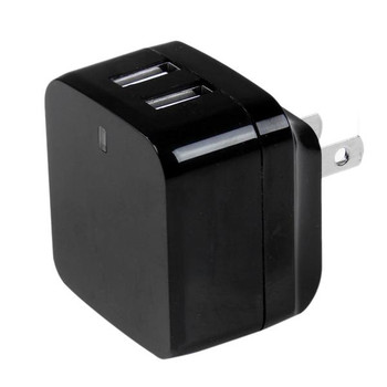 StarTech 2 port USB Travel Wall Charger 17W / 3.4A - 110V/220V Product Image 2