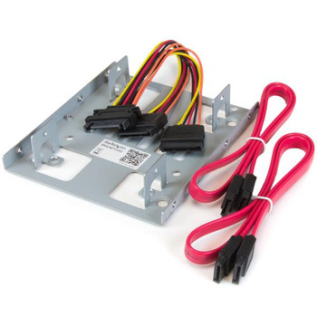 Image for StarTech Dual 2.5in SATA HDD/SSD to 3.5in Bay Mounting Bracket Adapter AusPCMarket
