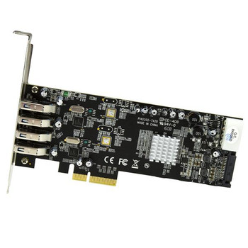 StarTech 4Port PCIe USB 3.0 Controller Card w/ 2 Independent Channels Product Image 2