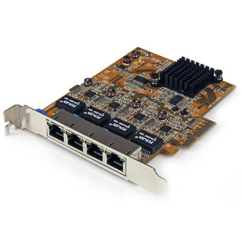 Image for StarTech Quad Port PCI Express Gigabit Ethernet NIC Network Adapter Card AusPCMarket