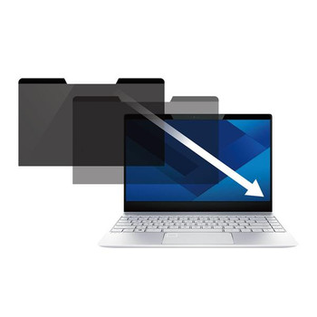 StarTech 15in Laptop Privacy Screen - Matte/Glossy - 16:9 - Magnetic Product Image 2