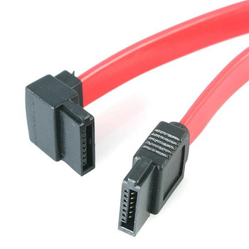 Image for StarTech 18in SATA to Left Angle SATA Serial ATA Cable AusPCMarket