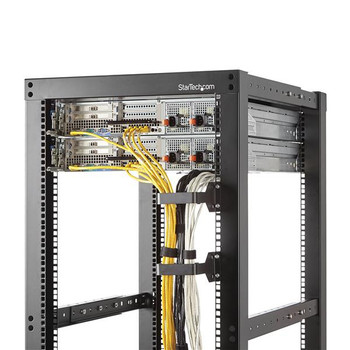 StarTech Rackmount Cable Organizer - D-Ring Cable Hanger Product Image 2