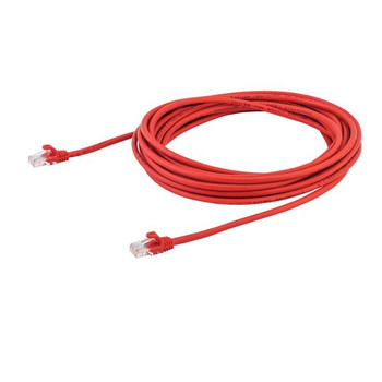 StarTech 7m Red Cat5e Ethernet Patch Cable - Snagless Product Image 2
