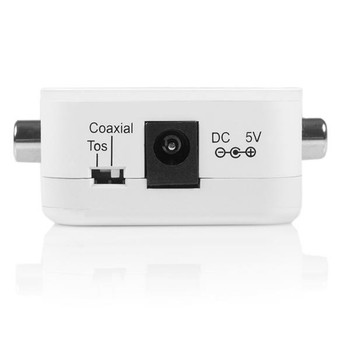 StarTech Two Way Digital Coax to Toslink Audio Converter Repeater Product Image 2