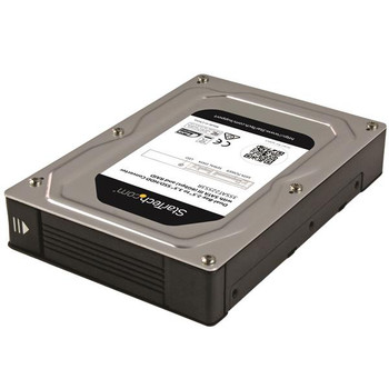 Image for StarTech 2-Bay 2.5in to 3.5in SATA SSD/HDD Adapter Enclosure w/ RAID AusPCMarket