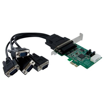 Image for StarTech 4 Port PCI Express RS232 Serial Adapter Card w/ 16950 UART AusPCMarket