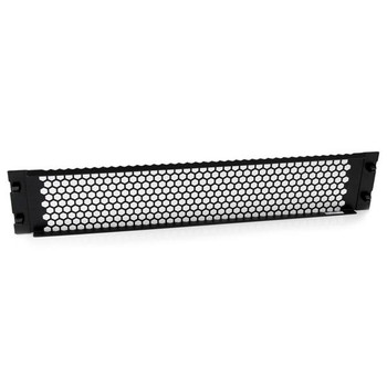 StarTech 2U Vented Server Rack Blanking Panel - Tool-Less Install Product Image 2