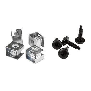 Image for StarTech 10-32 Rack Screws and Clip Nuts - Rack Mount Screws and Nuts AusPCMarket