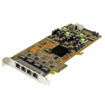 Image for StarTech Quad Port GbE PCI Express Network Card w/ PoE AusPCMarket