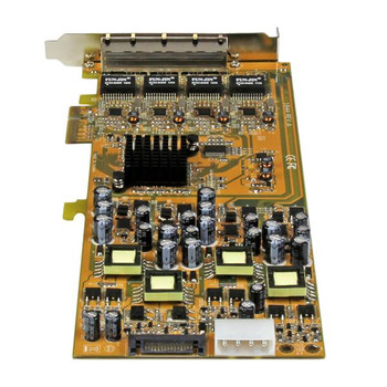 StarTech Quad Port GbE PCI Express Network Card w/ PoE Product Image 2