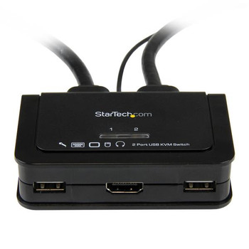 StarTech and Audio - HDMI USB KVM Product Image 2