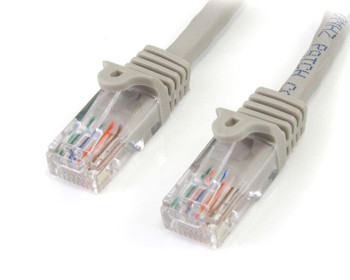 Image for StarTech 15m Gray Snagless Cat5e UTP Patch Cable AusPCMarket