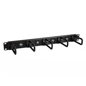 Image for StarTech Cable Manager - Cable Organizer - D-ring Hooks - Holes - 1U AusPCMarket