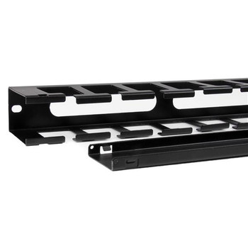 StarTech 1U Covered Cable Duct - Horizontal Cable Organizer Product Image 2