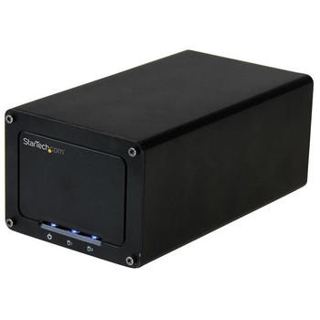 Image for StarTech 2-Drive External Enclosure for 2.5in SSD/HDDs - USB 3.1 AusPCMarket