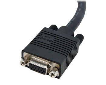 StarTech 10m Coax High Res Monitor VGA Extension Cable - HD15 M/F Product Image 2