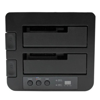 StarTech USB 3.0 / eSATA 2.5/3.5in SATA III Hard Drive Duplicator Dock Product Image 2