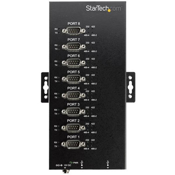 StarTech Industrial USB to RS232/422/485 Serial Adapter - 8-Port Product Image 2