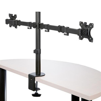 StarTech Desk Mount Dual Monitor Arm - Crossbar - Articulating Steel Product Image 2