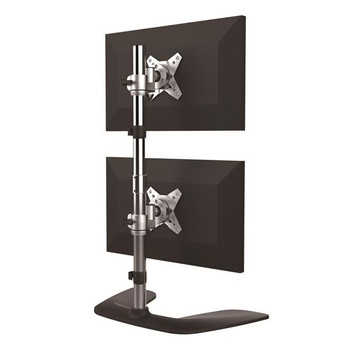 StarTech Vertical Dual Monitor Stand - For up to 27in Monitors Product Image 2