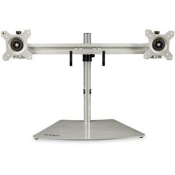 Image for StarTech Dual-Monitor Stand - Horizontal - Silver - Adjustable AusPCMarket