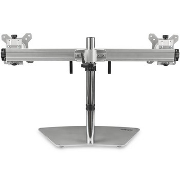 StarTech Dual-Monitor Stand - Horizontal - Silver - Adjustable Product Image 2