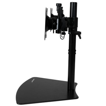 StarTech Dual-Monitor Stand - Horizontal - Black - Adjustable Product Image 2
