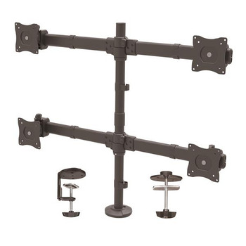 Image for StarTech Quad Monitor Mount for up to 27in Monitors - Heavy Duty Steel AusPCMarket