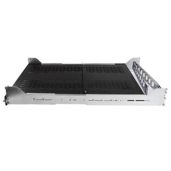 StarTech 2U Sliding Vented Server Rack Cabinet Shelf w/ Cable Mgmt Product Image 2