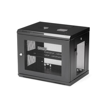 Image for StarTech 9U Wall Mount Rack - Wall Mount Server and Network Cabinet AusPCMarket
