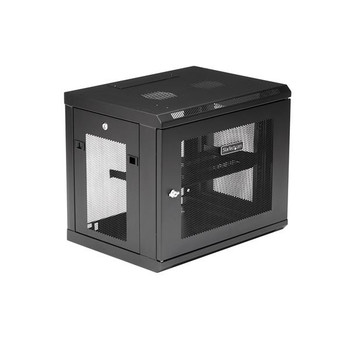 StarTech 9U Wall Mount Rack - Wall Mount Server and Network Cabinet Product Image 2