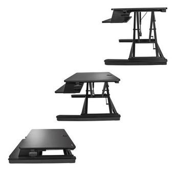 StarTech Sit Stand Desk Converter - Large 35in Work Surface Product Image 2