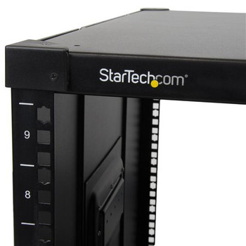 StarTech 9U Portable Rack for Server and Telecommunication Equipment Product Image 2