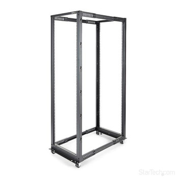 Image for StarTech 42U Server Rack - Open Frame Adjustable Depth 4 Post Rack AusPCMarket