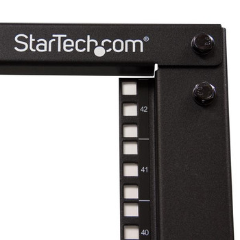 StarTech 42U Server Rack - Open Frame Adjustable Depth 4 Post Rack Product Image 2
