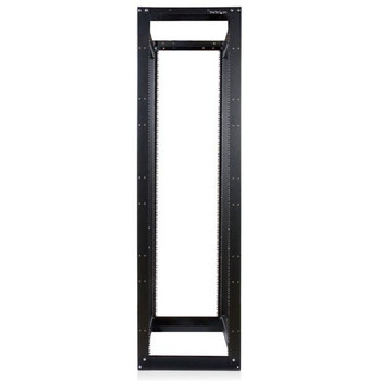 StarTech 45U 3300 lbs 4 Post Open Server Equipment Rack - Flat Pack Product Image 2