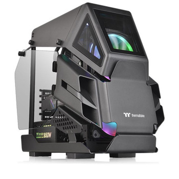 Image for Thermaltake AH T200 Tempered Glass Micro-ATX Case - Black AusPCMarket